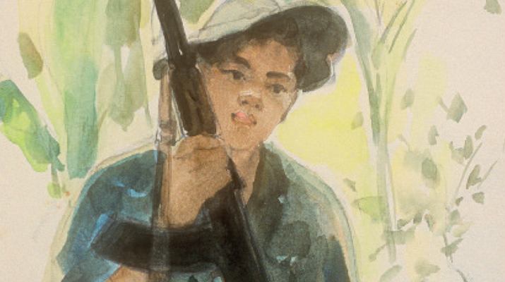 Vietcong drawings and stories (1964 - 1975)